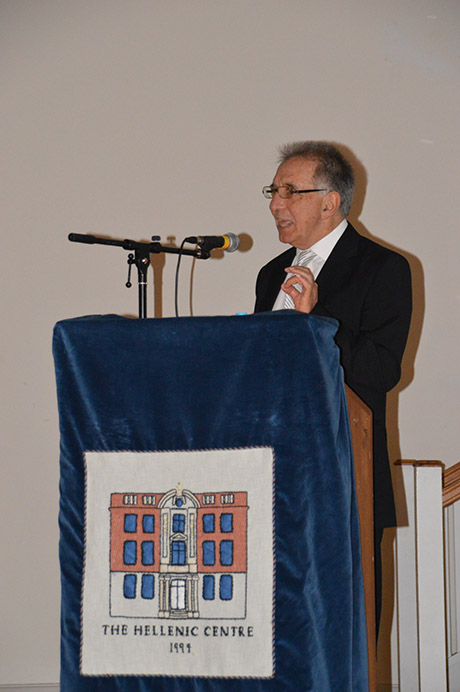 Speach of Professor Athanassios Fokas